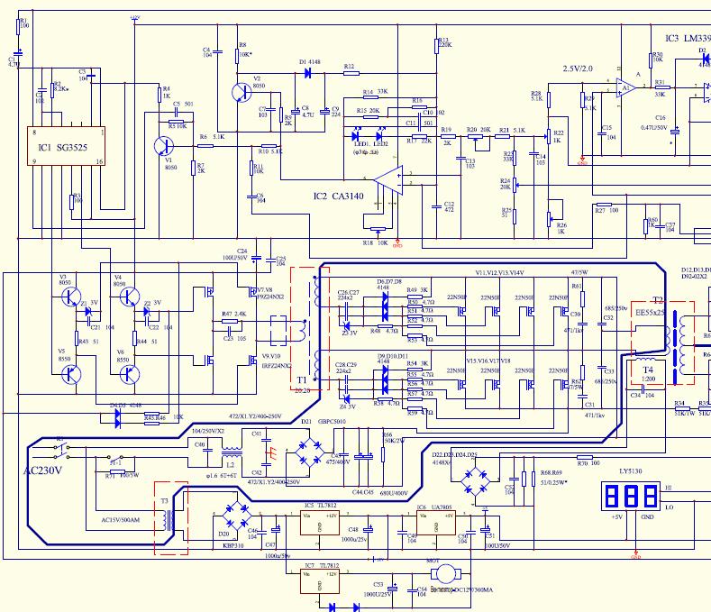 Welding Machine Schematics Service Manual 4 Electronics Projects Welding Machine Welding Circuit Diagram