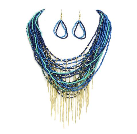 Sam Moon | Layered Necklace Set $10.99