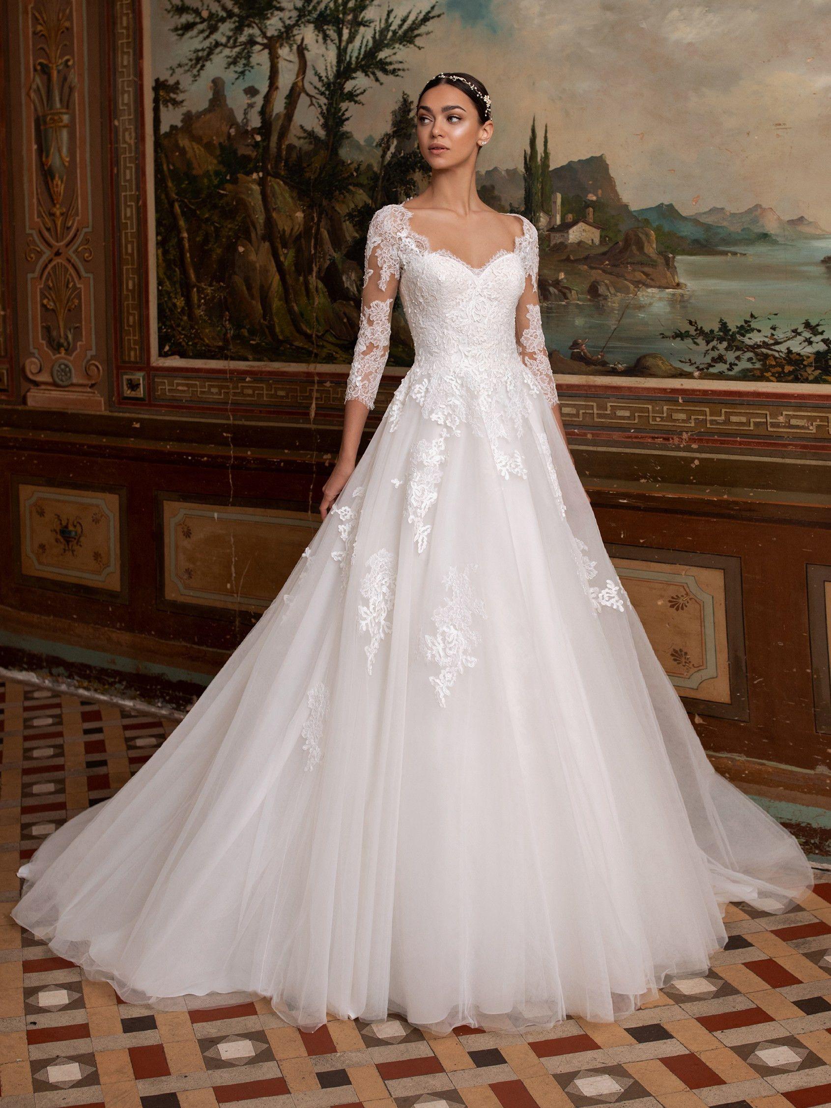 Ara Pronovias Wedding Dress Princess Wedding Dresses Wedding Dresses [ 2255 x 1691 Pixel ]
