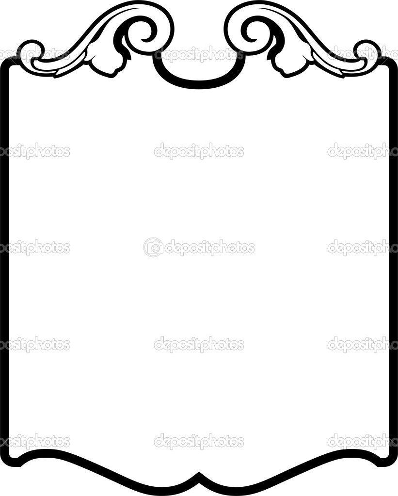vector decorative border stock vector vectorart 1522077 fonts rh pinterest com decorative borders vector free decorative border vector tutorial