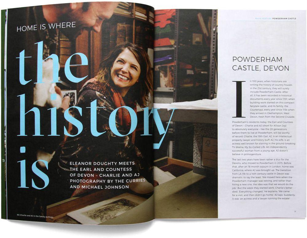 New Logo And Identity For Historic Houses By Johnson Banks Magazine Layout Design Historic Homes Magazine Layout