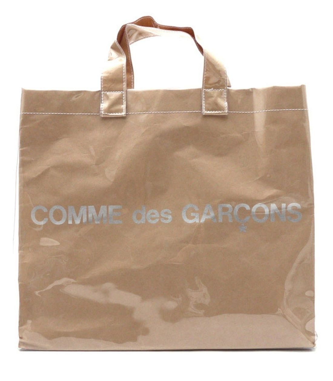 many fashionable purchase original hoard as a rare commodity COMME des GARCONS PAPER/ PLASTIC TOTE BAG (last drop ...