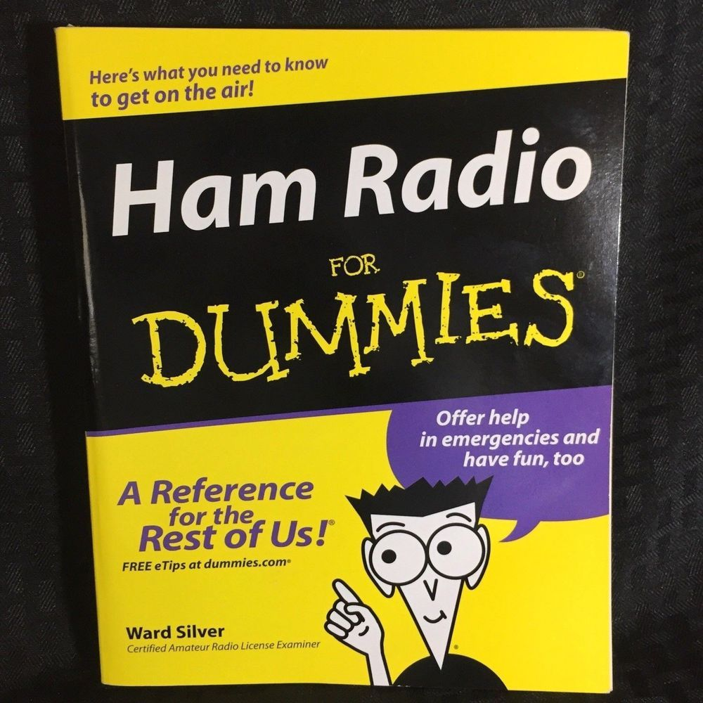 Ham Radio For Dummies Paperback Book 2004 By Ward Silver Ebay Dummies Book Ebook Ebooks