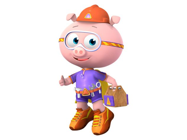 Super Why Pig Discovery Kids Super Why Mario Characters