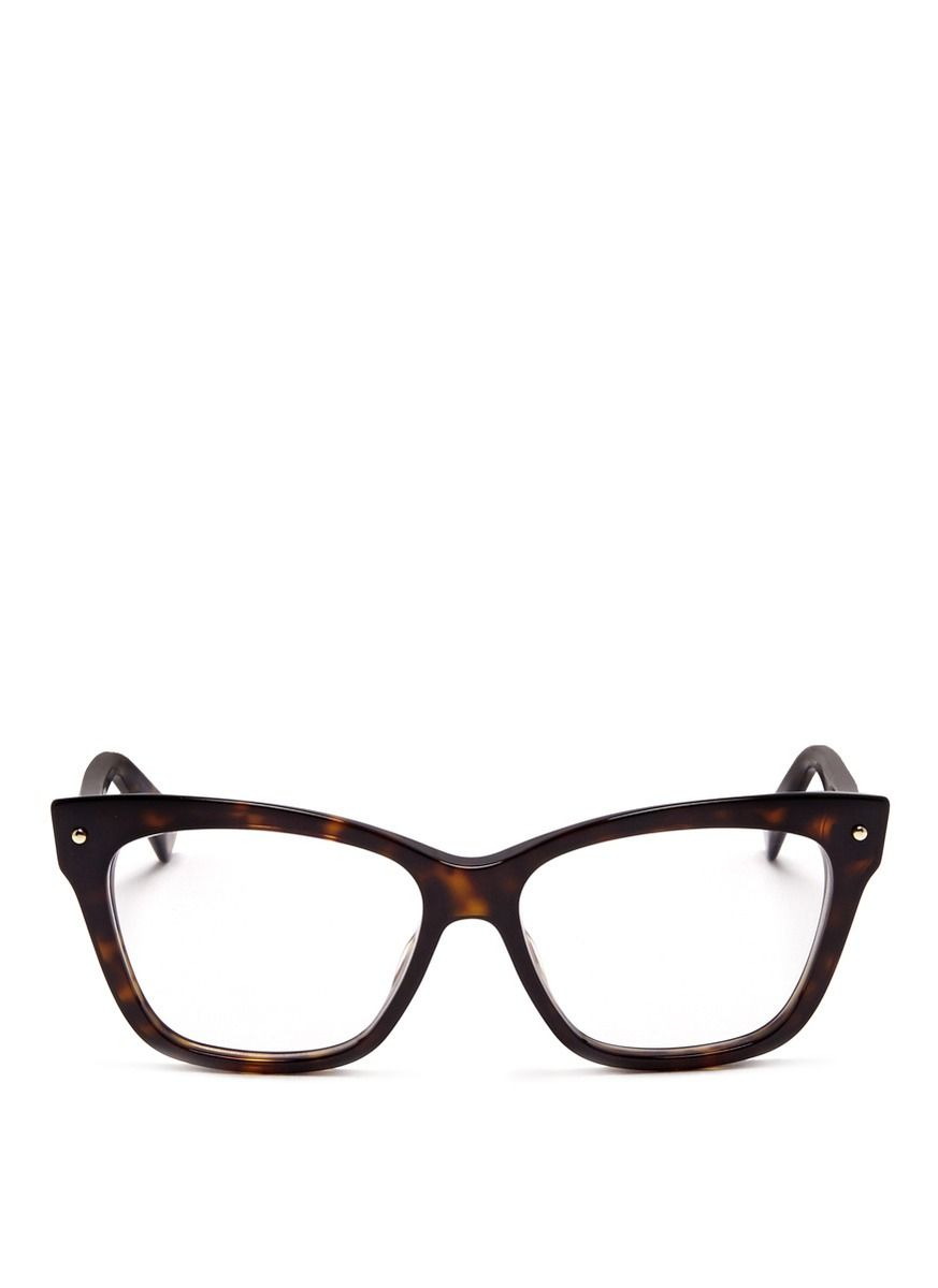 Opt for a look of retro intellect with these tortoiseshell optical glasses  from Dior. Designed 5b47289890