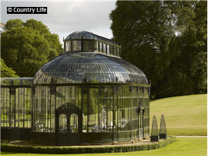 The Victorian conservatory at Ballyfin.
