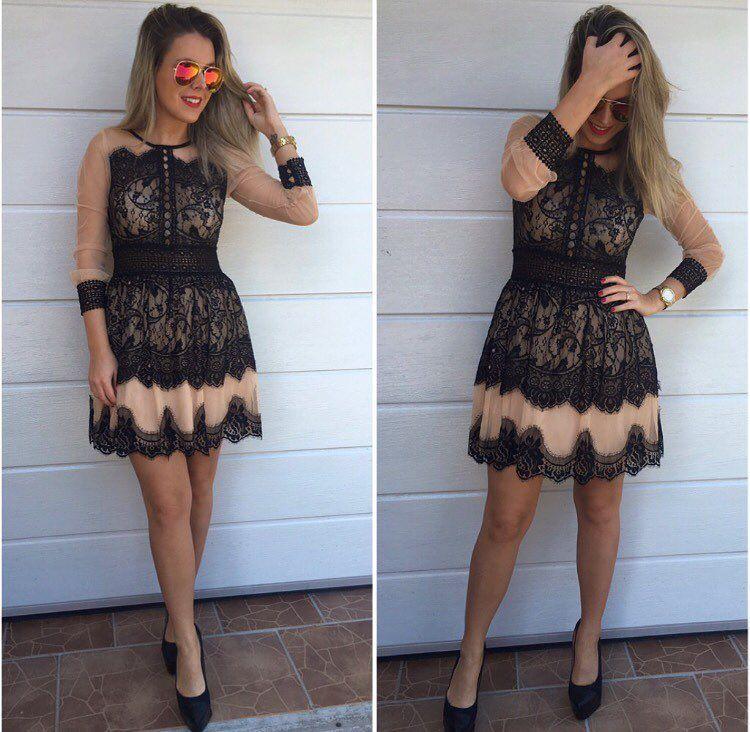 %VÝPREDAJ% Elegantné krajkové šaty -veľkosť M ( na foto je veľ.M) výpredajová cena 35 posledný ks viac už nebudú!  Objednaj v správe alebo priamo na http://ift.tt/2iu8znw