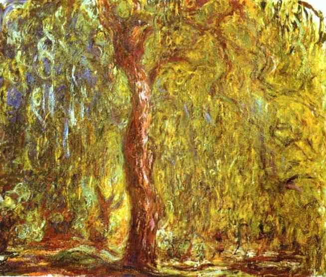 Monet - Weeping Willow | Art | Pinterest | Monet, Claude monet and ...
