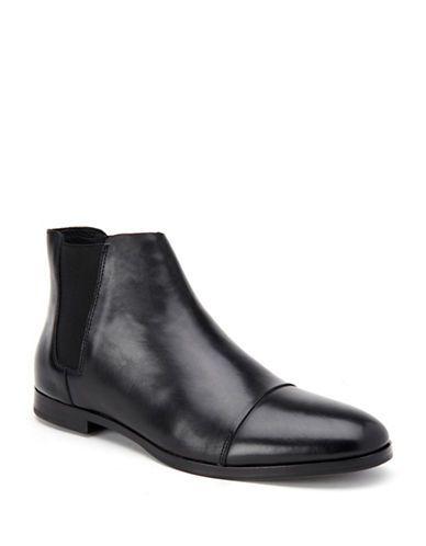 CALVIN KLEIN Calvin KleinFagin Double Gore Side Boots. #calvinklein #shoes #boots