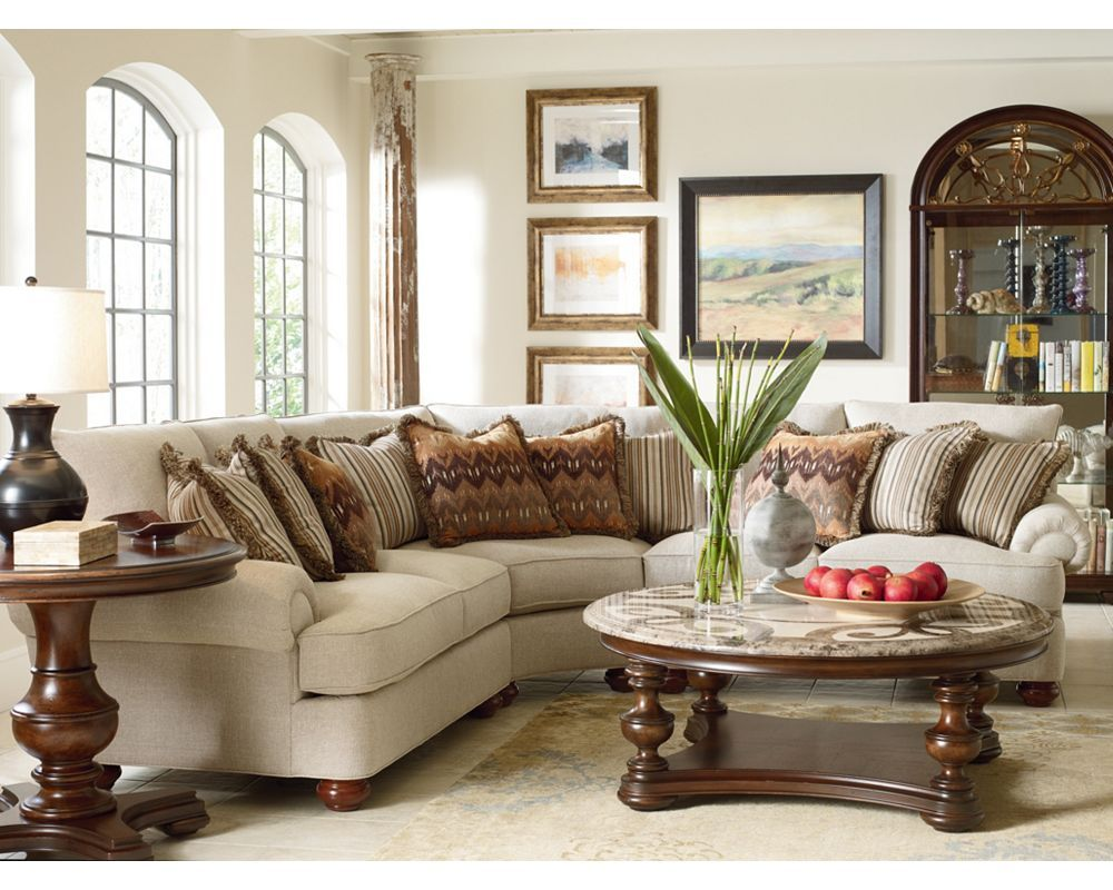 Portofino Sectional//Thomasville Portland//Living Room