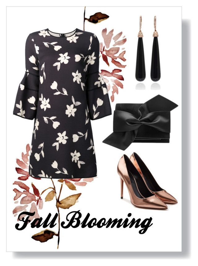 """""""Blooming InThe Fall."""" by findself ❤ liked on Polyvore featuring Carolina Herrera, Alexander Wang, Victoria Beckham and SUSAN FOSTER"""