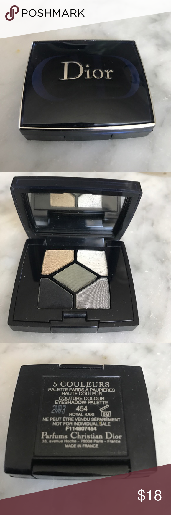 82c6f038 Christian Dior five color eyeshadow palette #454 Beautiful shadow ...