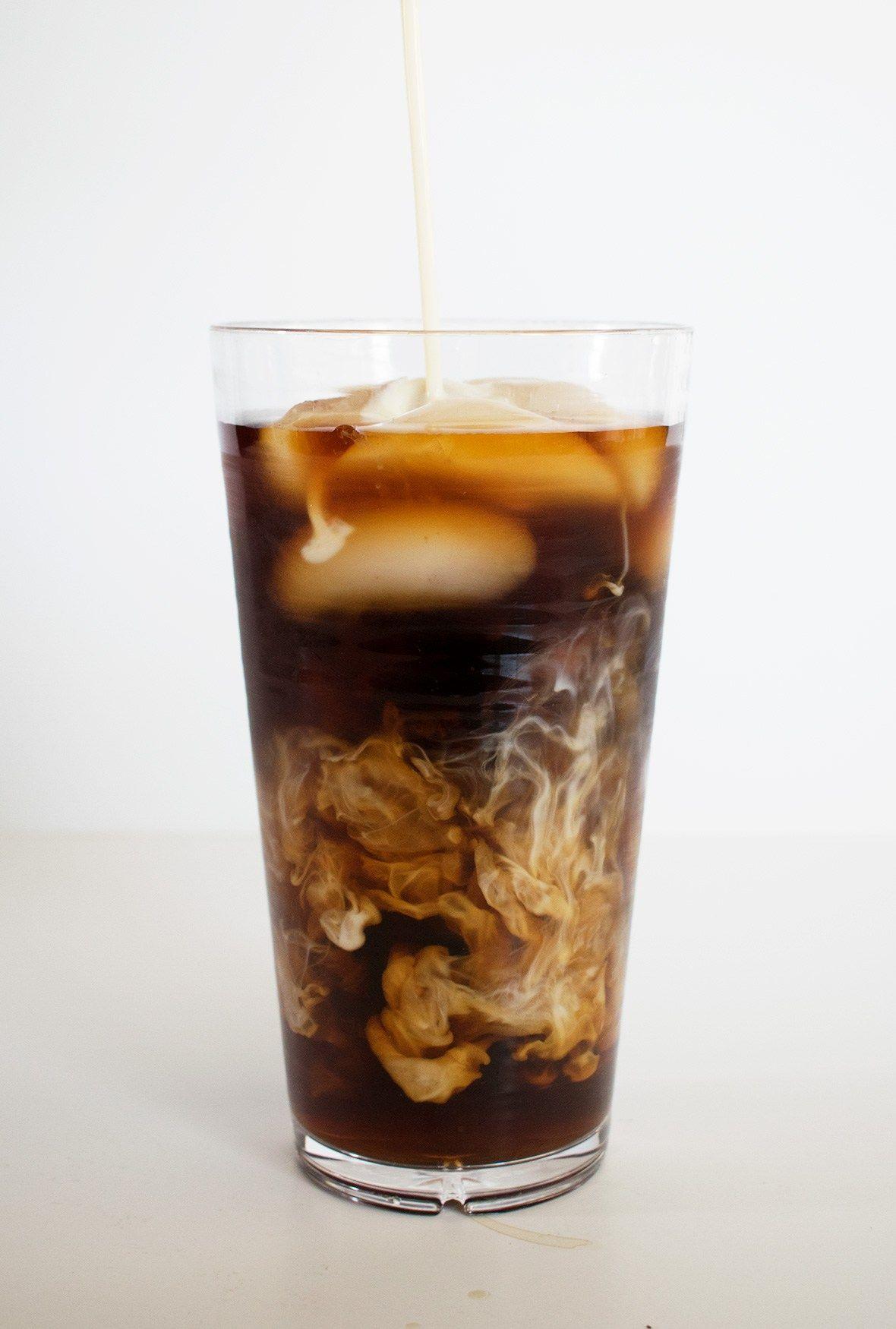Starbucks Copycat Cold Brew Coffee with Sweet Cream