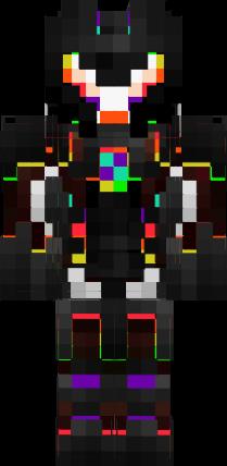 D Rainbow Robot Nova Skin Idézetek Pinterest Robot - Kleine skins fur minecraft