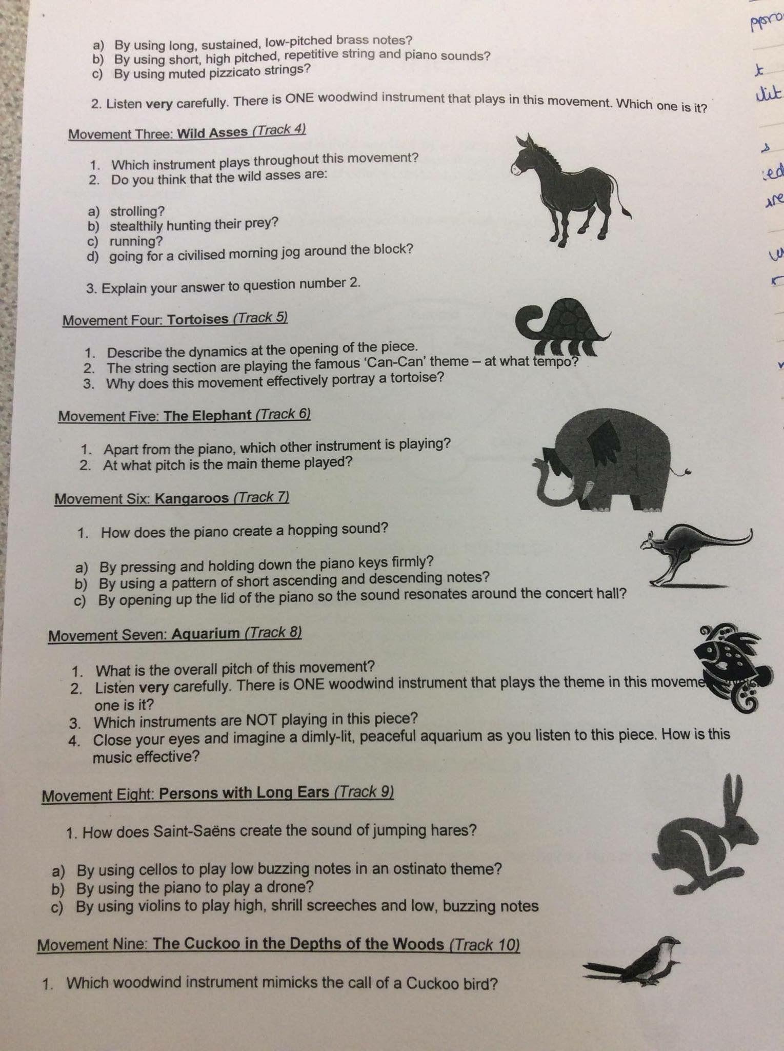 Semester 2 A Worksheet To Help Children Evaluate Music Woodwind Instrument Helping Kids Woodwind