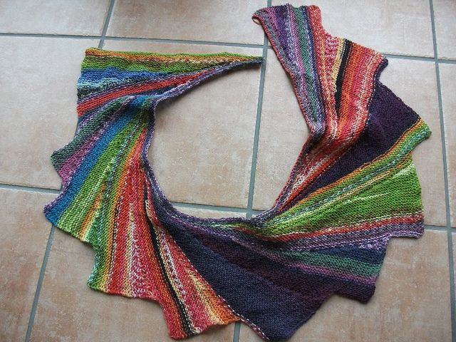Domic\'s Resteschwinger Using up leftover sock yarn...wingspan ...