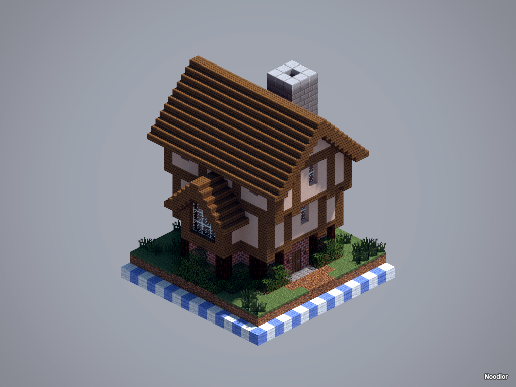 Medieval House Minecraft Minecraft Buildings Minecraft