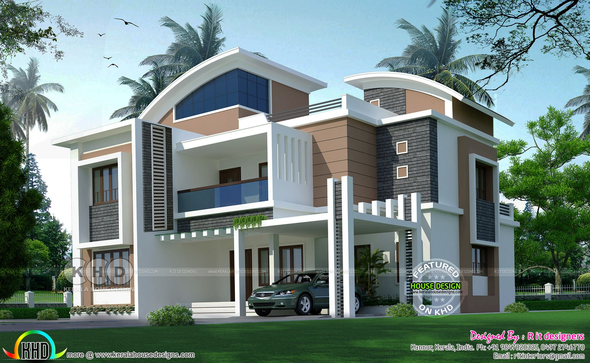 5 bedroom 3212 sq-ft house architecture | anup sheokand ... on bedroom loft plans, bedroom mansion, backyard modern house plans, bedroom minimalist, bedroom lighting plans, beach modern house plans, art modern house plans, bedroom bathroom, bedroom design plans,