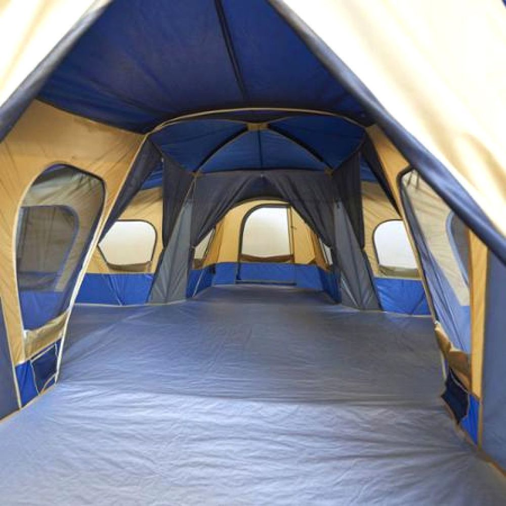 Sleep up to 14 campers in this huge base camp straight wall tent. 2-3 season ten...