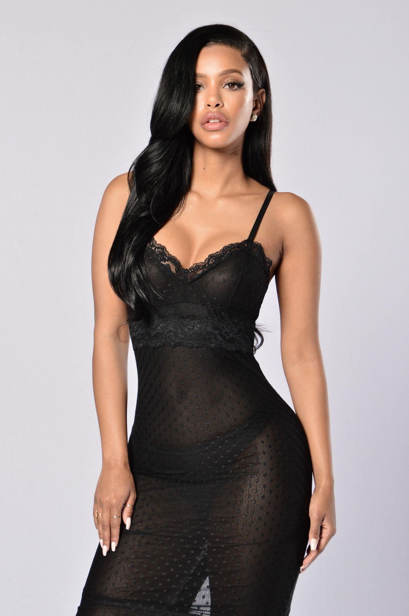 He noticed me mesh dress black mesh dress