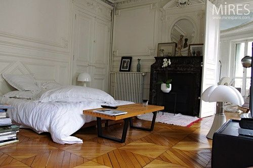 Typical Parisian Apartment To Me Wohnung Schlafzimmer Dekoration