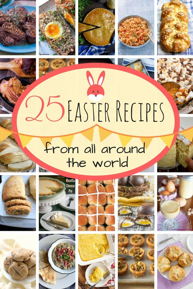 25 traditional easter recipes from around the world easter dinner 25 traditional easter recipes from around the world easter dinner brunch and lambs forumfinder Image collections