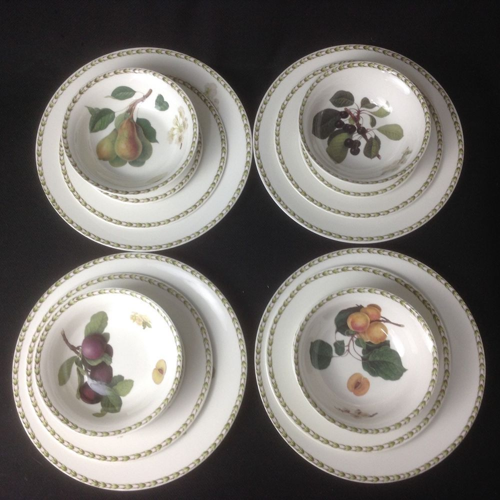 Queens royal horticultural society hookers fruit 16 pc dinnerware & Queens royal horticultural society hookers fruit 16 pc dinnerware ...