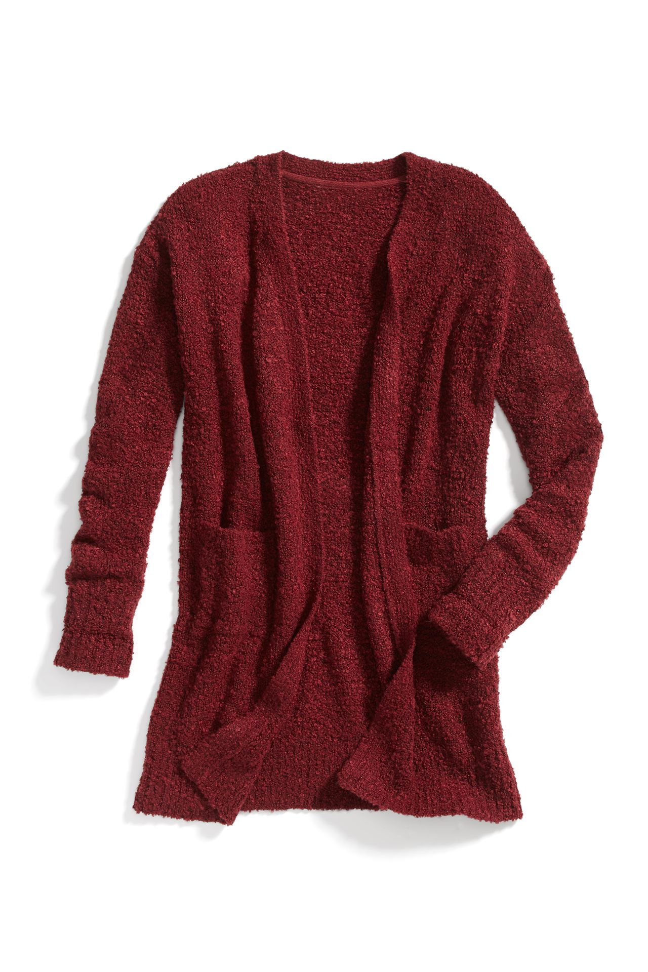 Stitch Fix Winter Essentials: An open-front cardigan is the perfect work or lounge layer. Throw it on over a blouse or simple tee.
