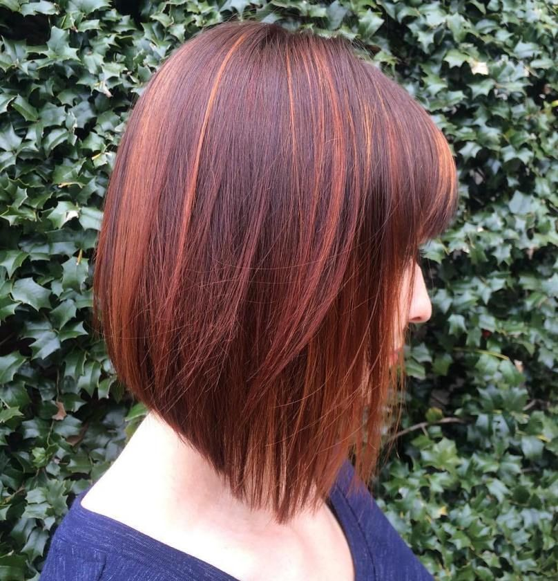 70 Devastatingly Cool Haircuts For Thin Hair Red Balayage