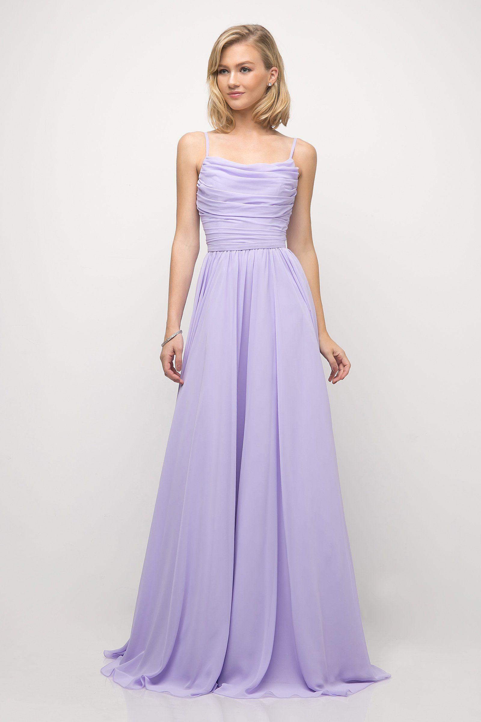 4febc2841a5 Ruched Long Empire Waist Dress by Cinderella Divine UR136 in 2019 ...