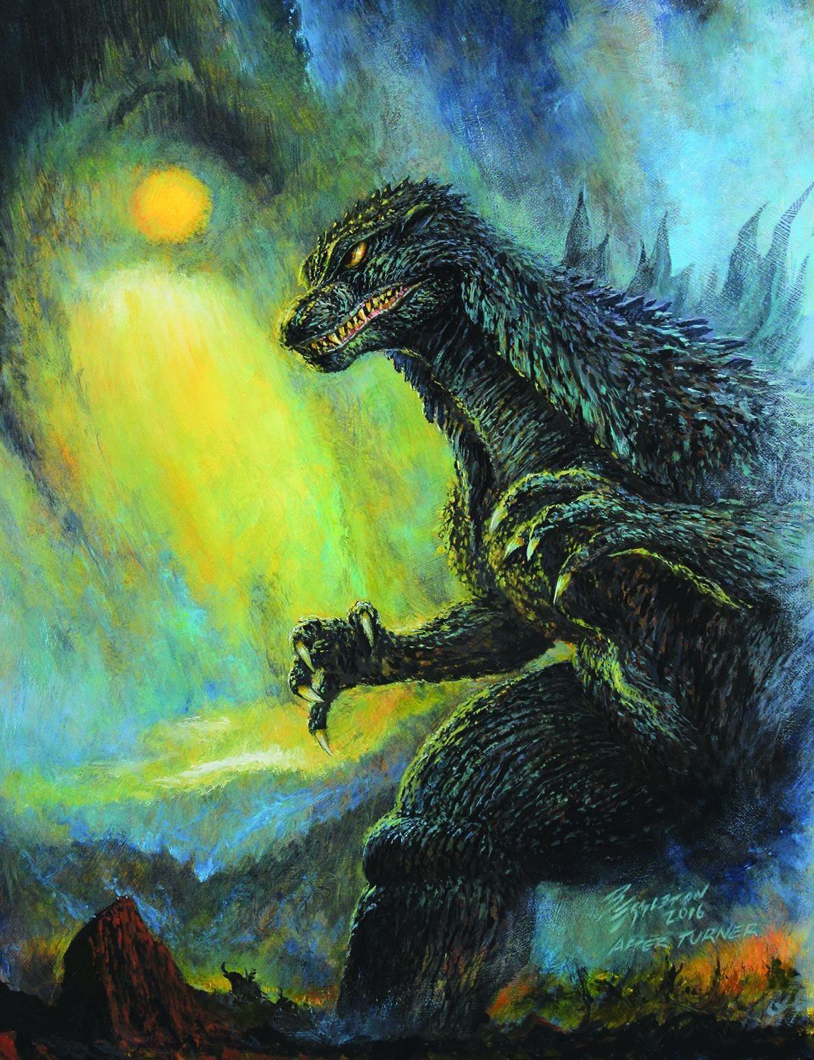 Godzilla art by Bob Eggleton Godzilla, Godzilla comics