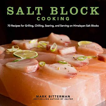 "My new book, ""Salt Block Cooking,"" is out on May 28th, with over 70 recipes for simple, modern recipes that illustrate the principles of preparing and serving food on Himalayan salt. Beginners will benefit from helpful information on shopping for a block, maintenance, heating, cooling, handling, and cooking with their blocks. More adventurous salt block cooks will find an array of new tips, techniques and recipes (salt block curing a slice of watermelon into prosciutto-like ""ham"", anyone?)"