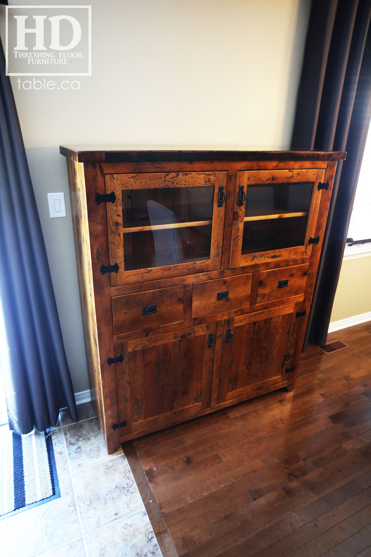 Ontario Reclaimed Barnwood Hutches By Hd Threshing Floor Furniture