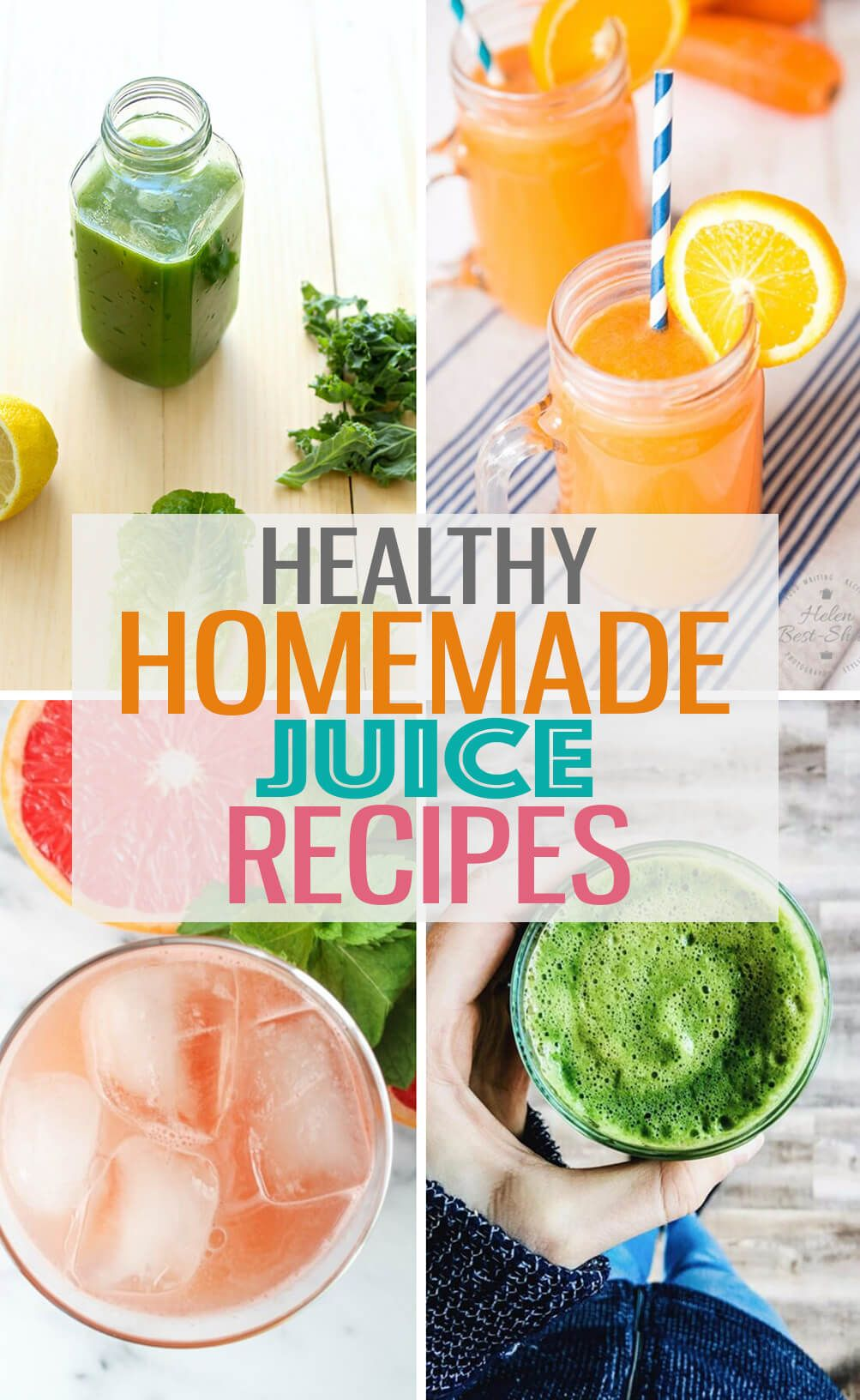 Juicing Recipes With Fresh Vegetables And Fruits Will Give You A Healthy Start To The New Year Use A Juic Juicing Recipes Homemade Juice Healthy Juice Recipes