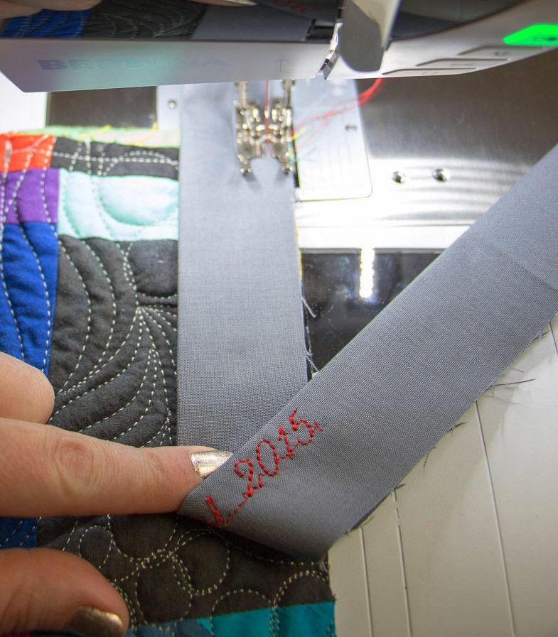 Quilt Binding, Quilt Labels