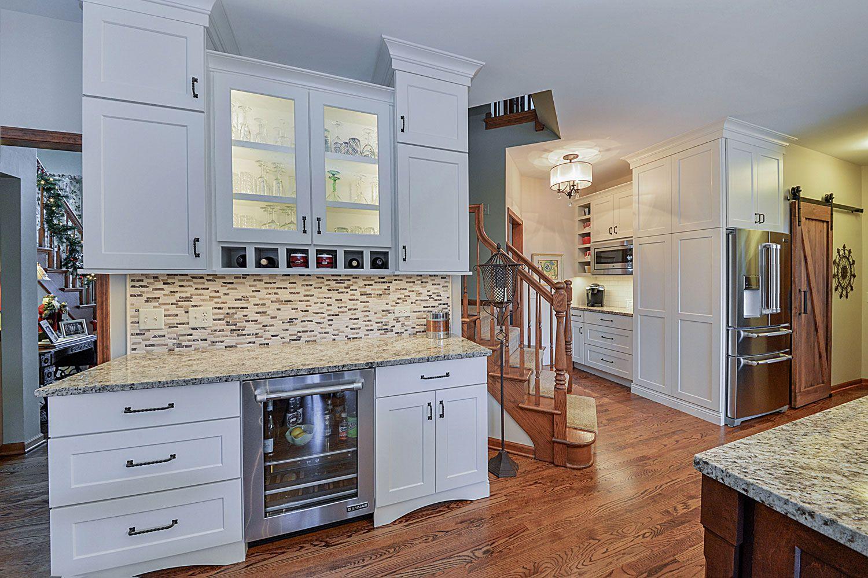 kitchen remodeling ideas white cabinetry granite glen ellyn wheaton