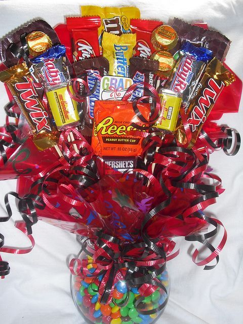 how to make a candy bouquet - Google Search   Projects to Try ...