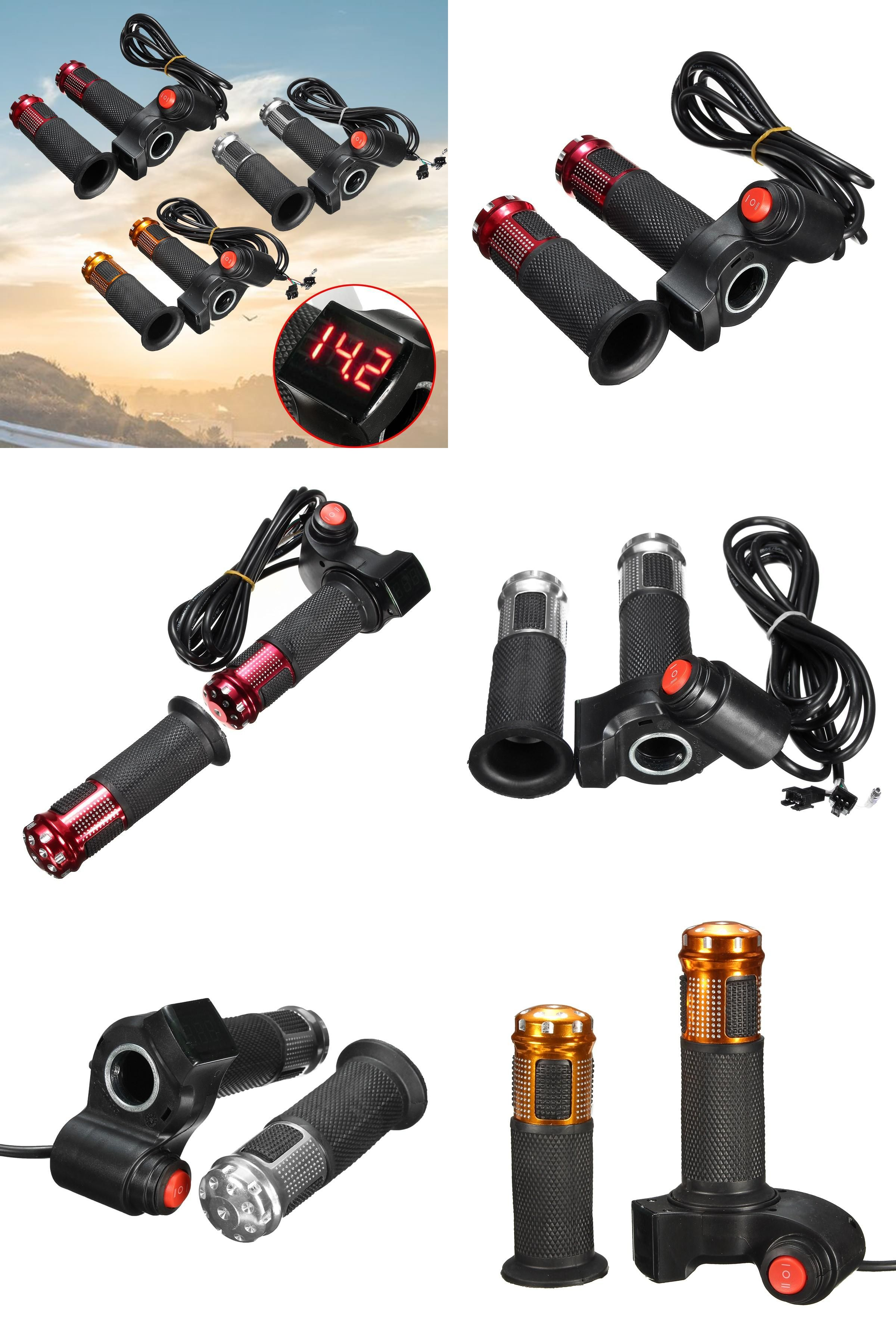 Visit to Buy] EBike Scooter Electric Throttle Grip Handlebar 24V ...