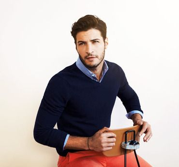How To Wear A Sweater Choose A Fitted V Neck Style Which Contours