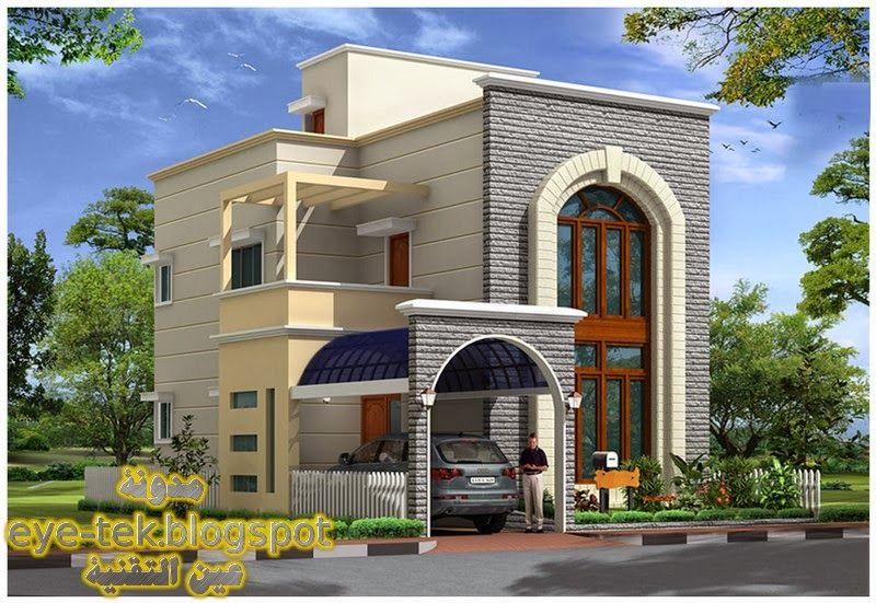 Lمخططات فلل فخمة و قصور قمة في الروعة ج1 منتديات الجلفة لكل الجزائريين و العرب Duplex House Design My House Plans Budget House Plans