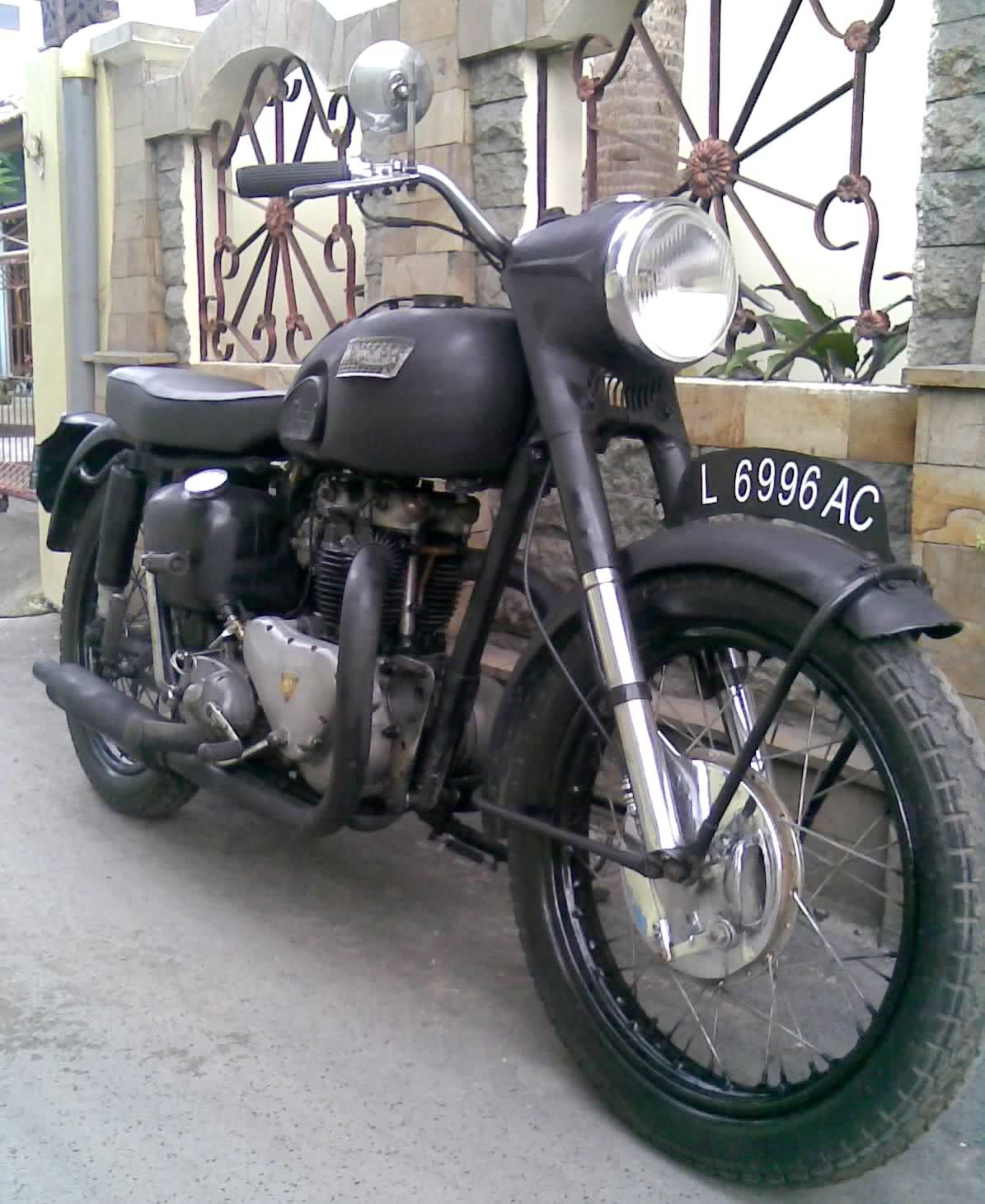 1955 Triumph Thunderbird 6t Classic Motorcycle For Sale With