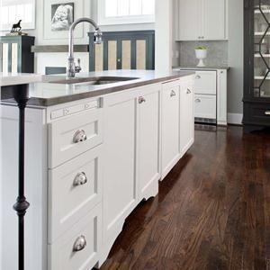 dark floors white cabinets grey benches interior design rh pinterest com