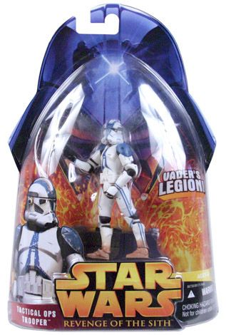 Revenge Of The Sith Carded Tactical Ops Trooper Vader S Legion C 9 Star Wars Toys Star Wars Action Figures Star Wars