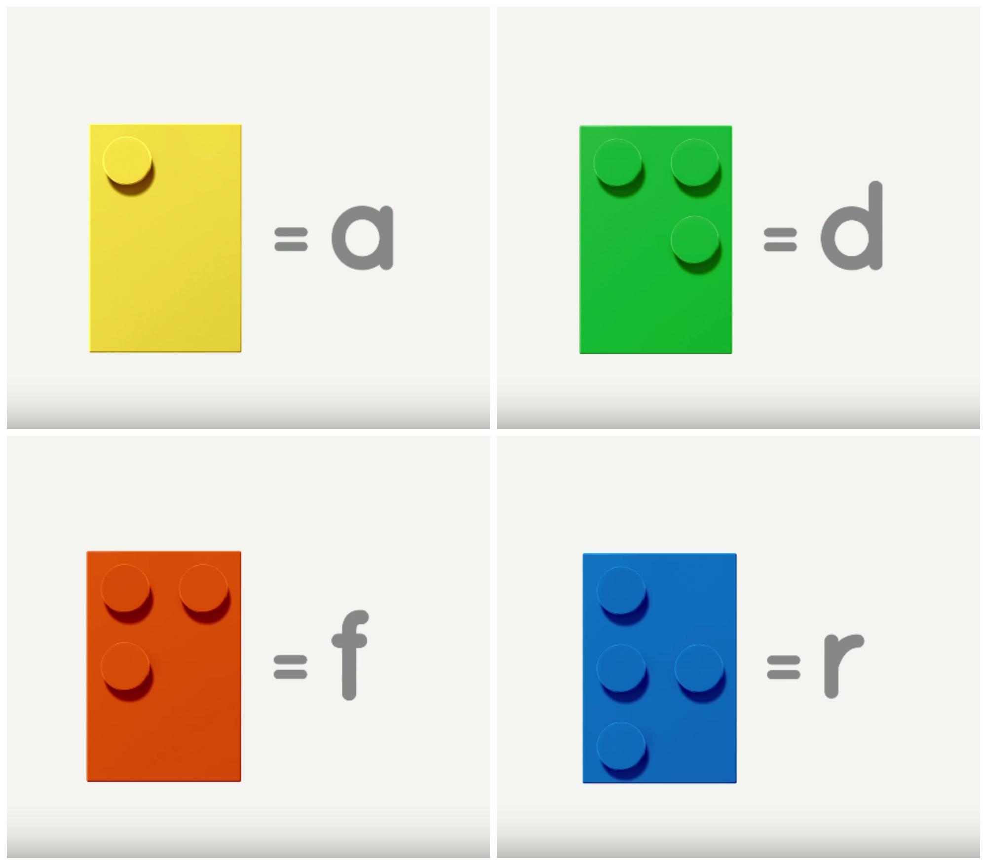 Bloques De Lego Convertidos En Una Herramienta Educativa
