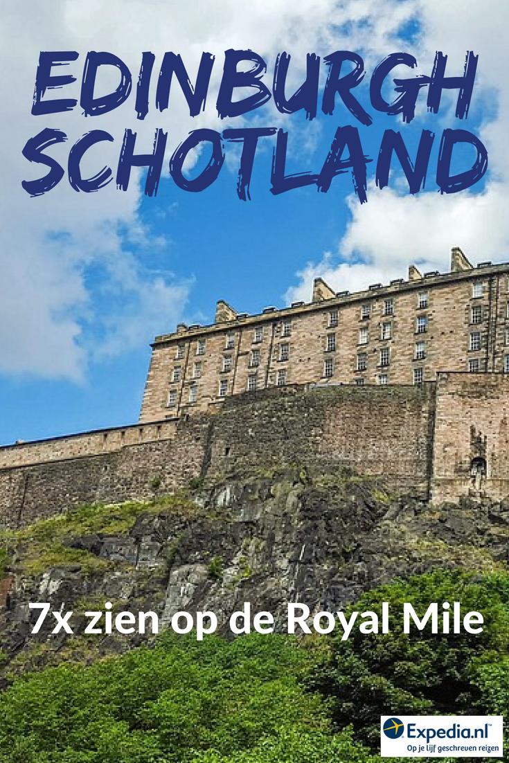 7x zien op de Royal Mile in Edinburgh, Schotland || Expedia.nl