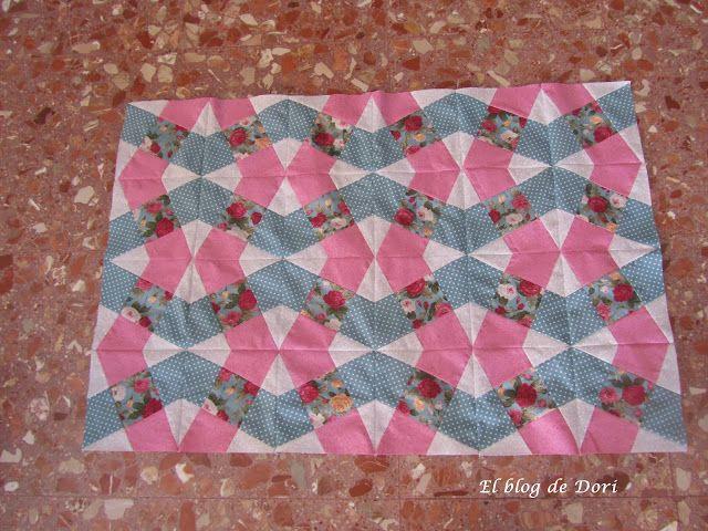 Dori's blog: Tutorial, X-Block Quilt.