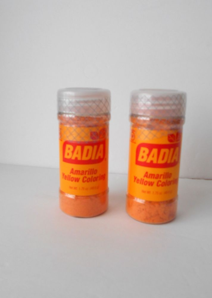 2 New Badia Amarillo Yellow Coloring, Fresh Exp. 6/2022 #Badia | My ...