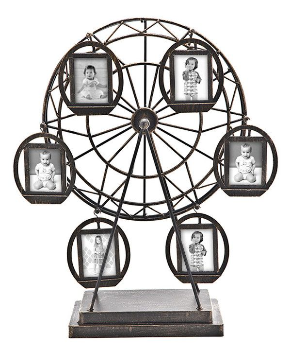 Take a look at this Bronze Rotating Ferris Wheel Collage Set on zulily today!