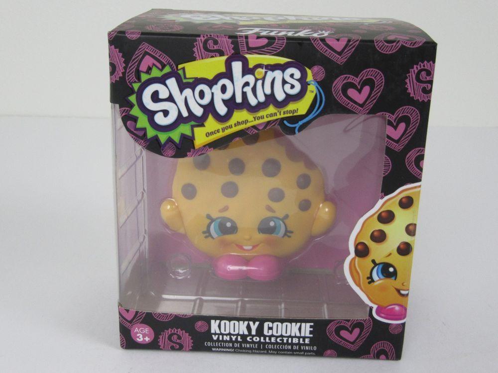 Funko Shopkins Vinyl Figure Kooky Cookie Vinyl Action Figure New In Box
