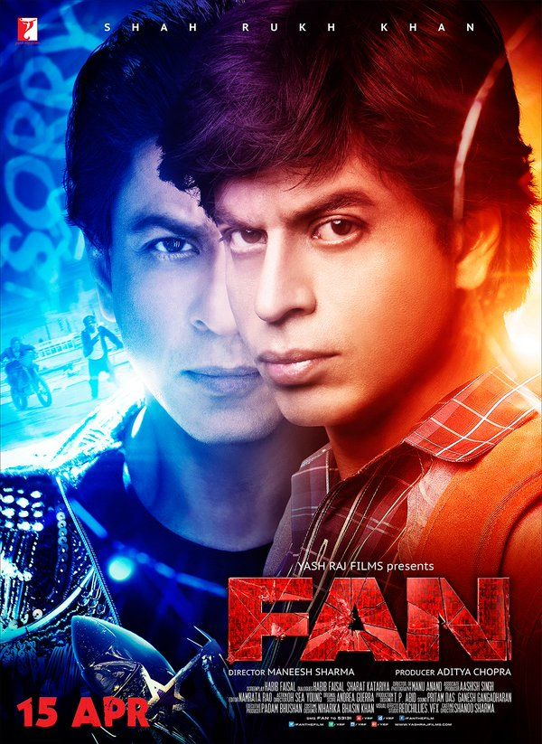 Fan Movie Poster Hd movies download, Hd movies, Srk movies